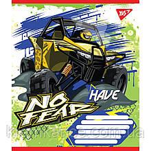 "Тетрадь 12 листов YES  ""No Fear"" клетка 763917"