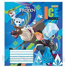 """Тетрадь 12 листов 1Везесня  """"Frozen"""" линия 763368, фото 2"""