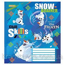 """Тетрадь 12 листов 1Везесня  """"Frozen"""" линия 763368, фото 3"""