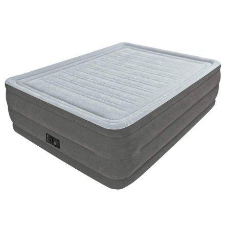 Надувная кровать Intex 64418, 152 х 203 х 56 , встроенный электронасос. Двухспальная