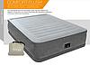 Надувная кровать Intex 64418, 152 х 203 х 56 , встроенный электронасос. Двухспальная - Фото