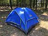 Палатка автоматическая трехместная Green Camp 1831, фото 2