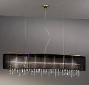 Подвесной светильник Kolarz 0240.87.3.Bk.HS Paralume
