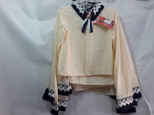 Школьная блузка для девочки р.122-146 опт , фото 2