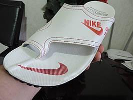 Мужские сандалии Найк - шлепанцы на палец. Босоножки Nike реплика. Шлепки, сланцы мужские вьетнамки.