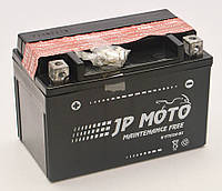 Аккумулятор мотоциклетный JP Moto 9,5Ah-12v YTX12A-BS , 12В, 9,5Ач, EN140А