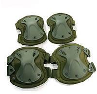 Комплект тактические Наколенники и Налокотники 9 mm (Германия), фото 1