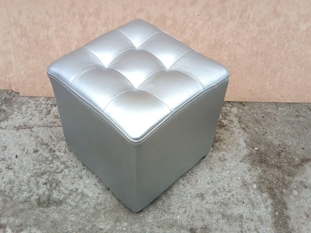 Пуфик квадрат ( серый )35×35×40см
