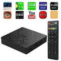 Медиаплеер OTT TV BOX HK1, Mali-400, CPU: RK3229 1.5GHz,Quad Core, RAM: 2G, ROM: 16G, Android 5.1