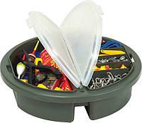 Ящик Plano для рыболовных крючков, круглый, зеленый (725001)