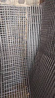 Сетка сварная, ячейка 100х100 мм., диаметр 4 мм., размер листа 0,5х0,5 м.,  черная