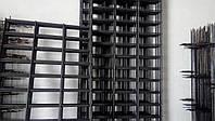 Сетка сварная, ячейка 50х100 мм., диаметр 4 мм., размер листа 1х1 м.,  черная
