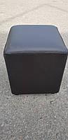 Пуфик квадрат ( черный )-35×35×40см.