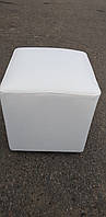 Пуфик квадрат ( белый )-35×35×40см.