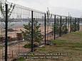 Забор из  Сварной Сетки 3Д - Секции Ограждения: ширина 2500 мм,  Zn + покрытие цвет зелёный RAL 6005, фото 6