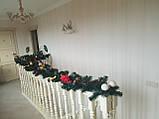 *Новогодняя гирлянда из еловых веток 3 м новогодняя гирлянда, фото 2
