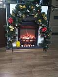 *Новогодняя гирлянда из еловых веток 3 м новогодняя гирлянда, фото 4