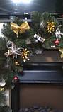 *Новогодняя гирлянда из еловых веток 3 м новогодняя гирлянда, фото 5