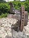 Поворотный кулак передний левый (ступица в сборе) Mercedes Vito W638 1995—2003г.в., фото 2