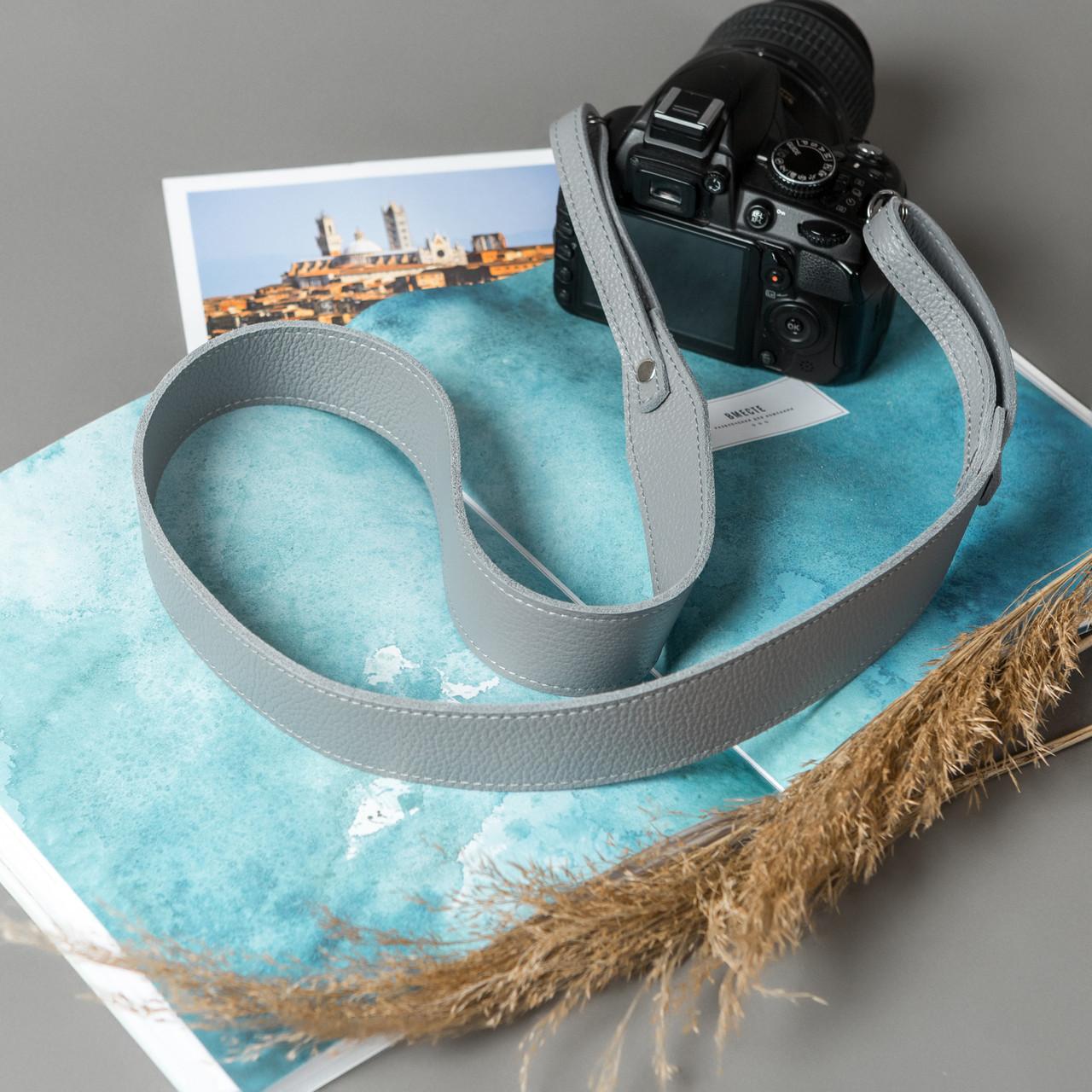 Ремень для фотоаппарата из натуральной кожи