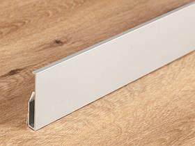 Алюминиевая вставка к плинтусу под LED подсветку Profilpas 60 мм 87/6 2000 мм 88/I6L/A