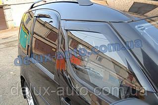 Ветровики Cobra Tuning на авто Skoda Roomster 2006 Дефлекторы окон Кобра для Шкода Румстер с 2006