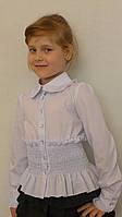 """Блузка для девочки """"Резиночка-длиный рукав"""", фото 1"""