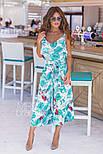 Женский стильный комбинезон-кюлоты (в расцветках), фото 2