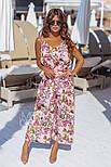 Женский стильный комбинезон-кюлоты (в расцветках), фото 6