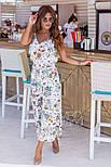 Женский стильный комбинезон-кюлоты (в расцветках), фото 8