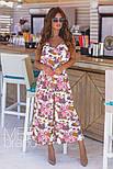 Женский стильный комбинезон-кюлоты (в расцветках), фото 9