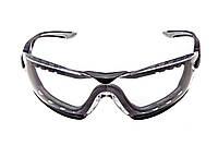 Очки защитные Bolle Cobra с прозрачными линзами и ремешком (COBFTPSI)