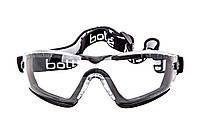 Очки защитные Bolle Cobra с оправой, ремешком и чехлом (COBFSPSI)