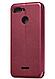 Чехол (книжка) премиумдля Xiaomi Redmi 6 (бордо) марсала, фото 3