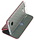 Чехол (книжка) премиумдля Xiaomi Redmi 6 (бордо) марсала, фото 2