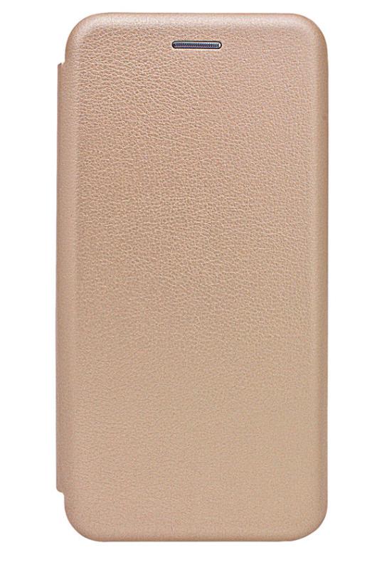 Чехол (книжка) премиумдля Xiaomi Redmi 6 золотая