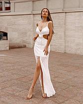Очаровательное платье из прошвы, фото 2