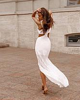 Очаровательное платье из прошвы, фото 3