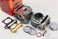 """Поршневая (ЦПГ) 4T GY6 100cc Ø50mm + головка с клапанами """"TMMP"""""""