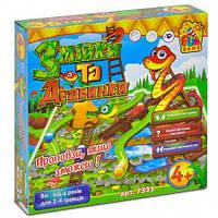 Hacтoльнaя игpa «Лестницы и змейки» Fun Game (7335)