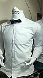 Рубашки белые для мальчиков 2-7 лет Ikoras, фото 3