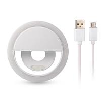 Кольцо для селфи Ring lightна аккумуляторе от USB