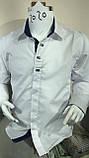 Рубашки белые для мальчиков 2-7 лет Ikoras, фото 2