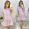 Комфортное льняное платье, фото 3
