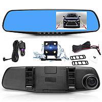 Видеорегистратор зеркало с камерой заднего вида Vehicle Blackbox DVR Full HD 4.3 дюймов Оригинал