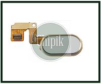 Шлейф кнопки Home Meizu M3 Note (L681h), белая