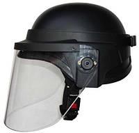 Шлем с защитным стеклом Roco 5,5мм черный (HC-05)