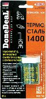Герметик термостойкий ремонтный термосталь 85 г DoneDeal