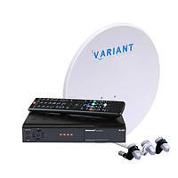 Спутниковый комплект Мажорский HD с Вай-Фай в комплекте