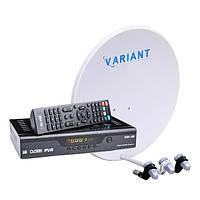 Популярный Комплект Спутникового ТВ HD